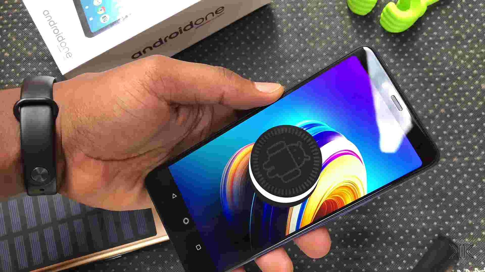 AndroidOne based on Android 8.1 Oreo version on the Infinix Note 5