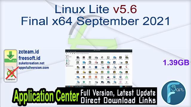 Linux Lite V5.6 Final x64 September 2021