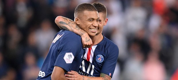 THE PSG OF MBAPPÉ ALREADY ON THE ATTACK!