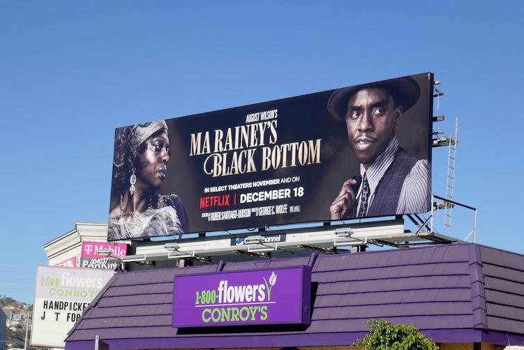 Ma Raineys Black Bottom Netflix billboard