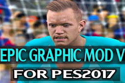 Epic Graphic Mod + Pitch V2 - PES 2017