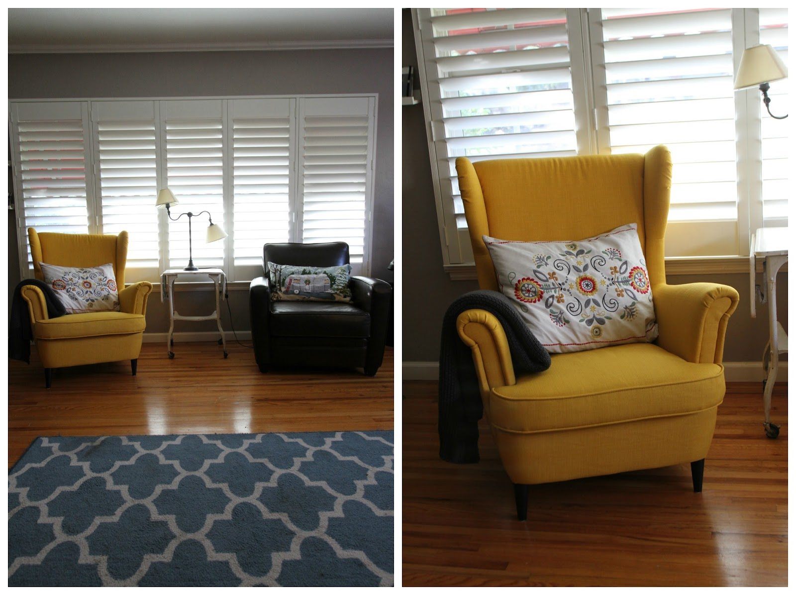 I Feel Like When Your Husband Agrees To Your Idea Of Getting A Bright Yellow  Chair For The Living Room, You Need To Jump On It. And Thatu0027s Exactly What  I ...