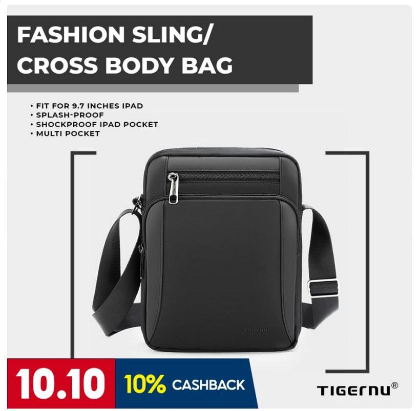 Tigernu T-L5191 Men and Women, Unisex Sling Shoulder Crossbody Bag