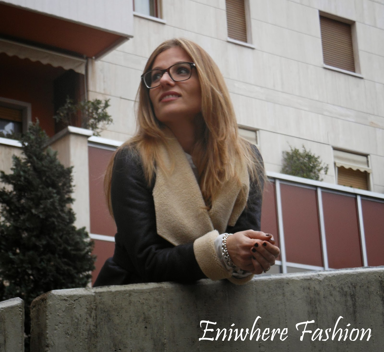 Eniwhere Fashion montone tacco