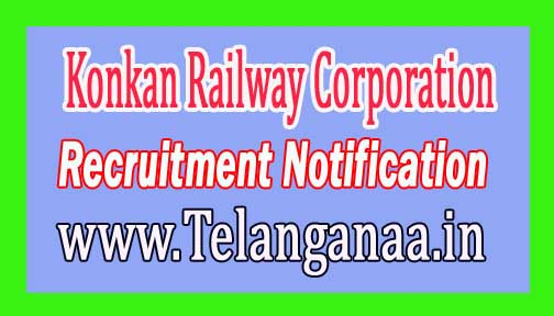 Konkan Railway Corporation Limited KRCL Recruitment Notification 2017