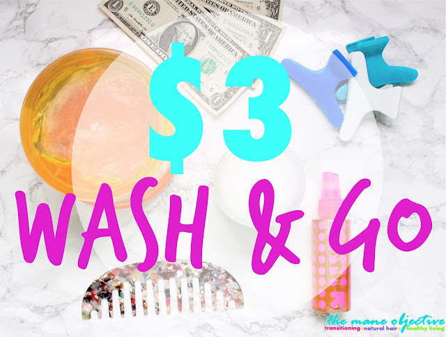 Summer Sixteen: The $3 Wash & Go