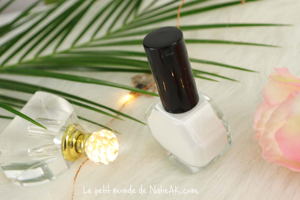vernis à ongles pure white Pure by Valérie cruelty free