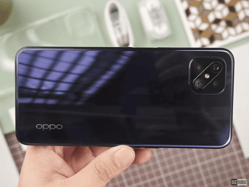 OPPO Reno4 Z 5G's back panel