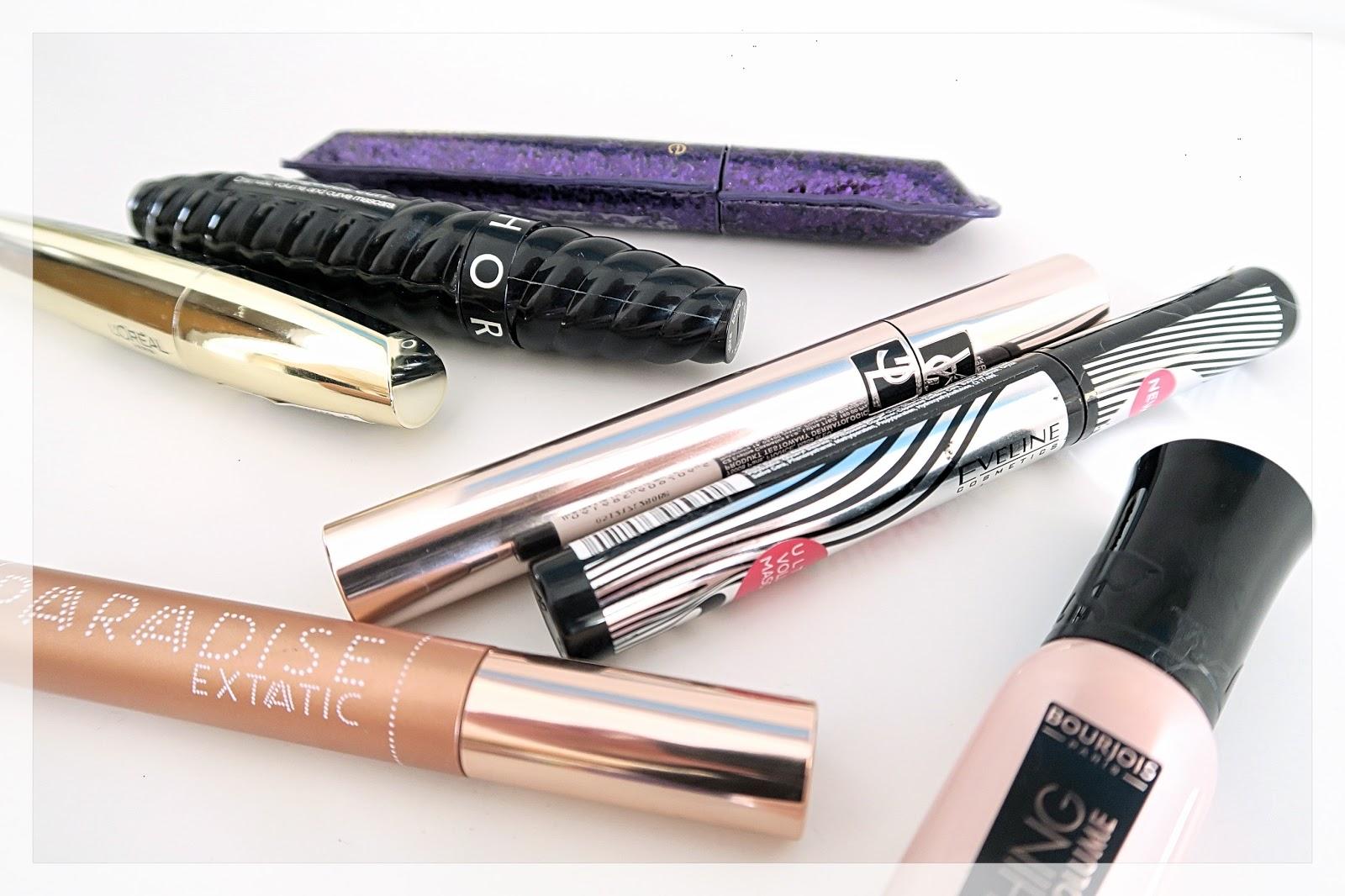 Agata tuszów wiele naotwierała... L'Oréal | Bourjois | Eveline | Sephora | YSL | Tarte
