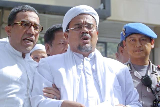 Dituding Lakukan Penghasutan dan Lawan Aparat, Habib Rizieq Shihab Ditetapkan Sebagai Tersangka