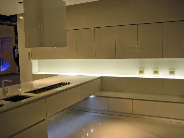 La iluminacin integrada en la cocina  Cocinas con estilo