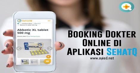 Booking Dokter Online di Aplikasi SehatQ