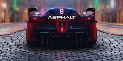 Asphalt 9 Legends V2.8.4a APK + OBB Highly Compressed 500MB Download