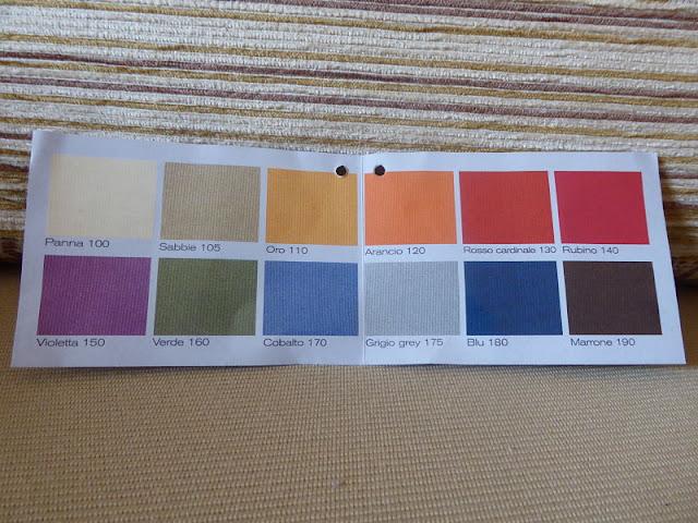 i colori disponibili del copricuscino elasticizzato