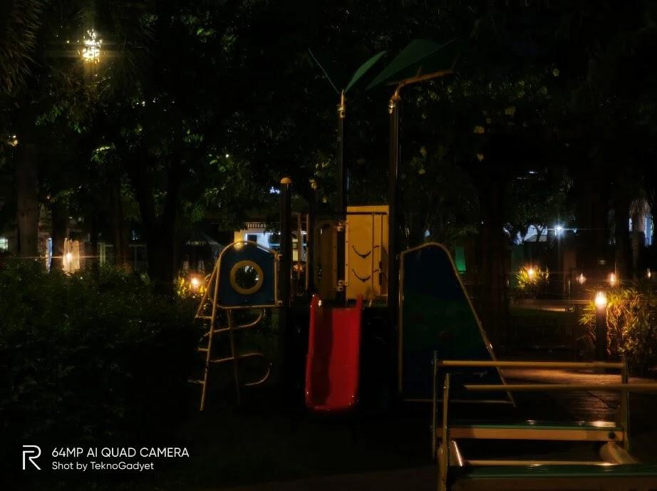 realme X3 SuperZoom Camera Sample - Playground, Night, Zoom 5x, Night Tripod Mode