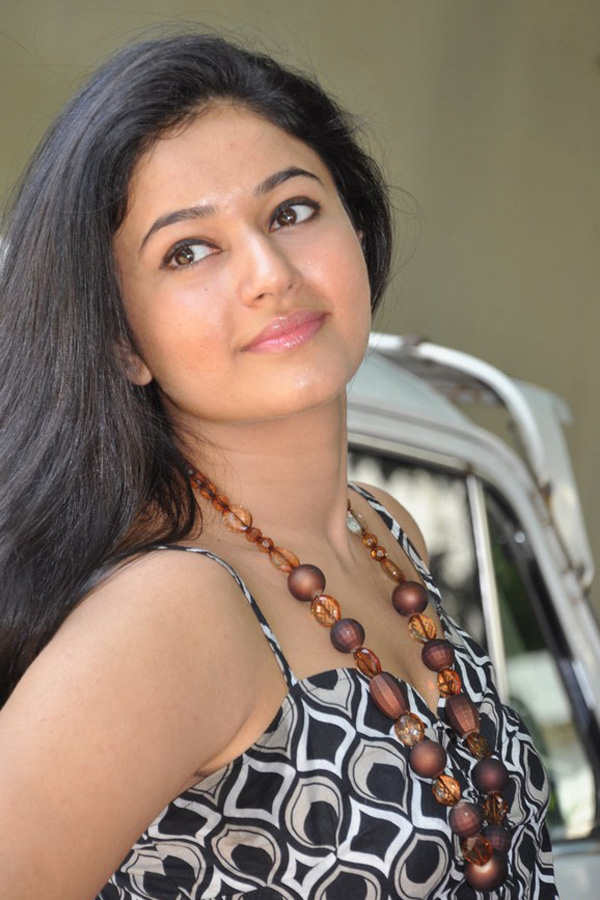 South Indian Girl Poonam Bajwa Hot Face Close up Stills In Black Dress