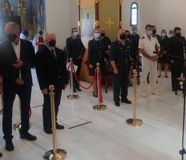 Σε όλη την Πελοπόννησο γιορτάστηκε η «Ημέρα τιμής των Αποστράτων της Ελληνικής Αστυνομίας»
