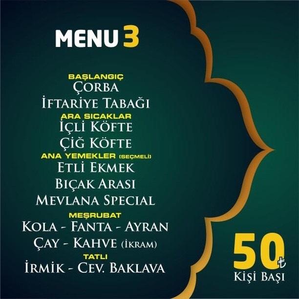 mevlana pide diyarbakır iftar menü fiyatları diyarbakır iftar nerede yapılır