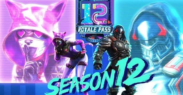 PUBG Mobile Season 12 Royale Pass çıkış tarihi resmen açıklandı