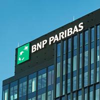 Zdjęcie siedziby BNP Paribas.