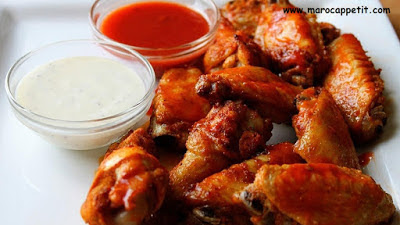 Recette d'ailes de poulet marinées au four| Recipe of baked chicken wings marinated
