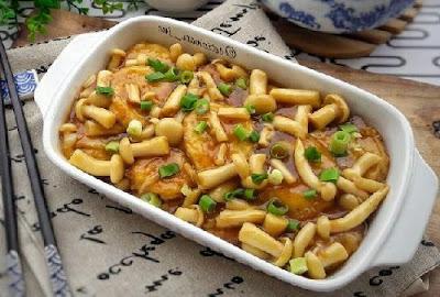 Resep Tofu Mushroom Sauce