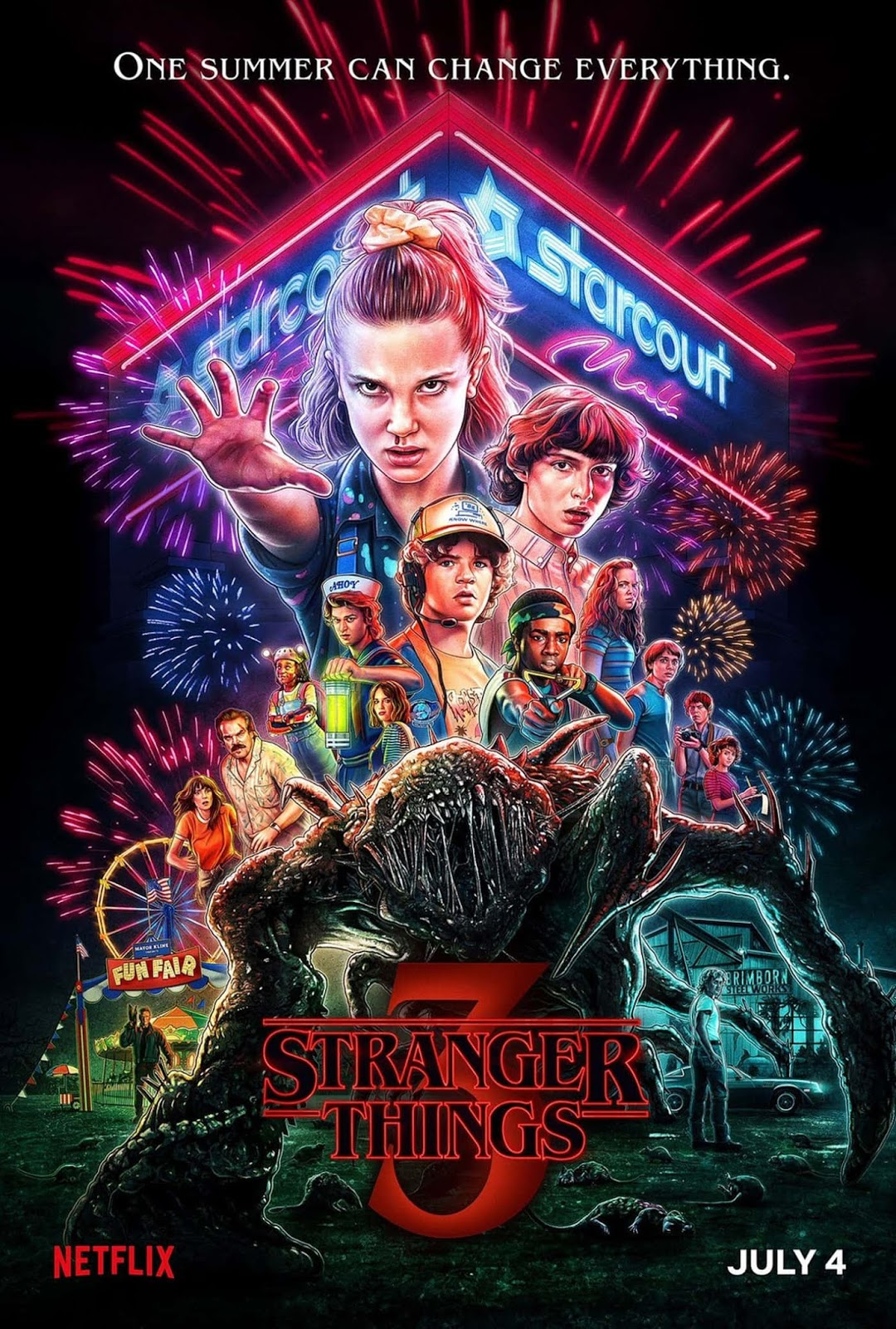 póster-oficial-temporada-3-stranger-things