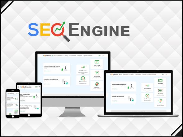 SEO Engine Blogger template