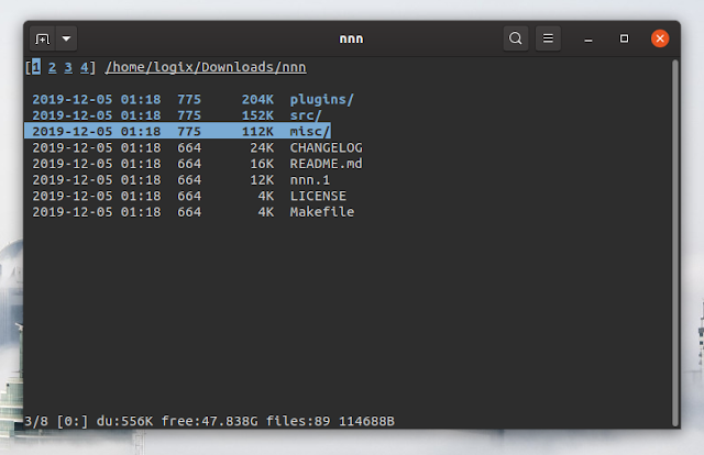 nnn terminal file manager
