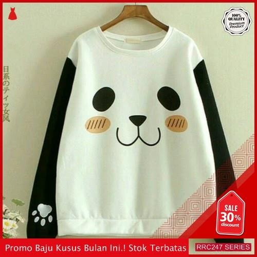 RRC247P33 Panda White Wanita Terbaru BMGShop