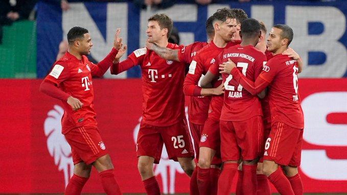 (Video) Bayern show class against Eintracht Frankfurt