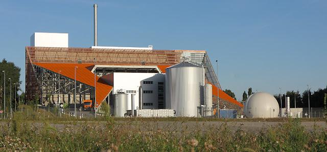 Impianto a digestione anaerobica di Vienna per il trattamento dei rifiuti organici
