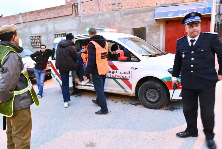ولاية أمن طنجة: لم يتعرض أي شخص للتعنيف وشخص واحد فقط تظاهر بالإغماء