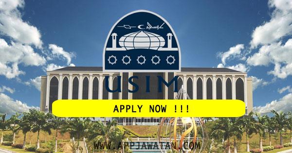 Jawatan Kosong Terkini di Universiti Sains Islam Malaysia (USIM)
