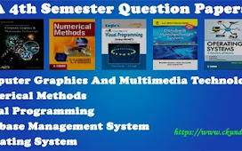 BCA 4th Semester Question Papers Pdf