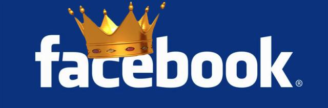Sosyal medya kralı Facebook