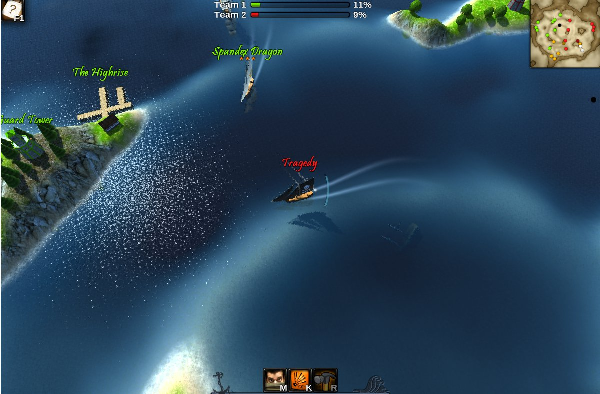 Windward is Sid Meier's Pirates meets League of Legends and will eat