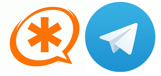 Connect your Asterisk telephony system to your Telegram account