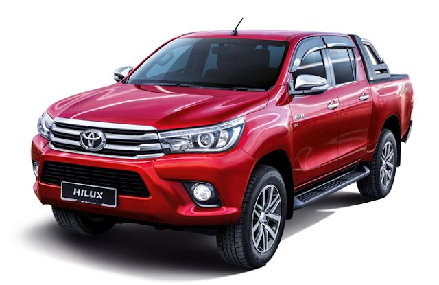 Harga Dan Spesifikasi Toyota Hilux 2016 Baru