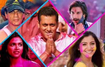 Bollywood stars holi