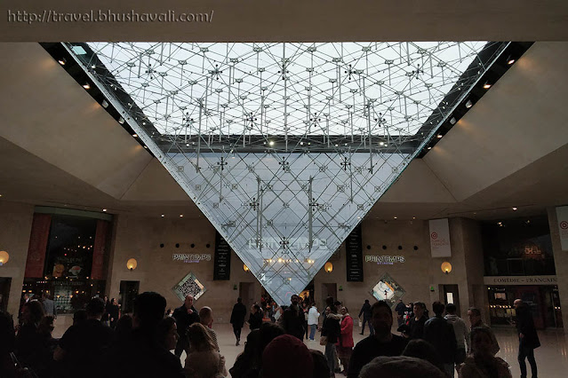 Inverted Pyramid of Louvre Museum