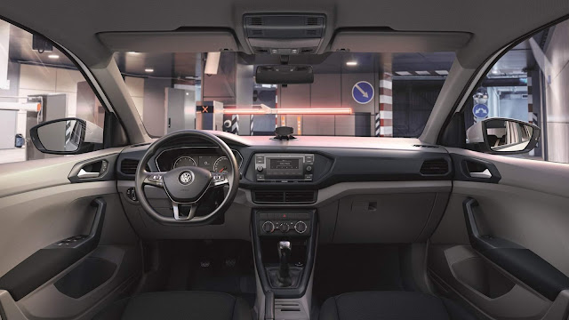 Volkswagen T-Cross 200 TSI Manual - interior
