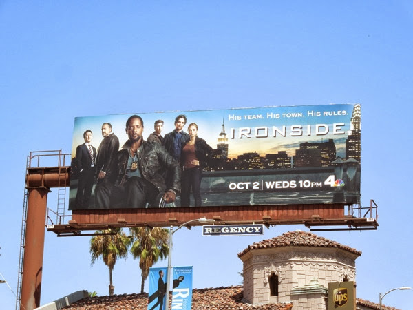 Ironside remake series premiere billboard