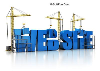 طريقة انشاء موقع الكتروني