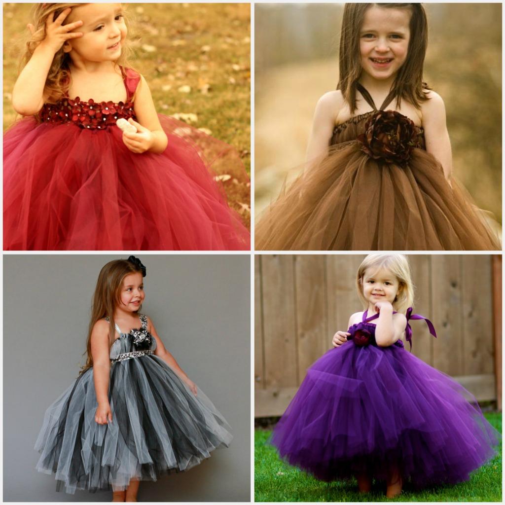 Weddings- the Joys and Jitters: Sweet Flower Girl Tutu Dresses