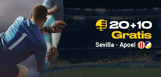 bwin promo Europa League Sevilla vs Apoel 3-10-2019