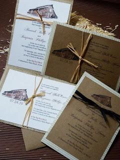 unique barn farm wedding country invitations