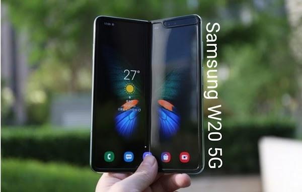 Resmi samsung W20 5G dirilis 19 november di wuhan: Paling mahal dalam sejarah samsung
