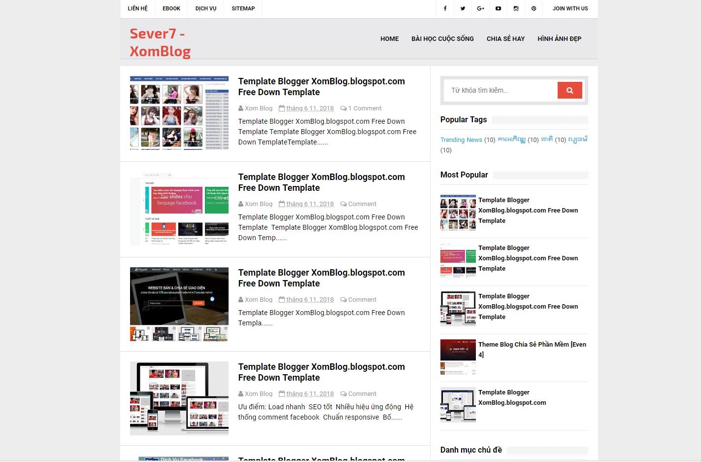 Kayblog - Blogger template hai cột chuẩn seo xomblog.blogspot.com .jpg