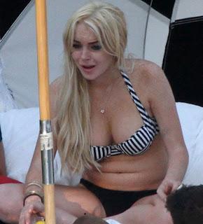 famosas en bikini